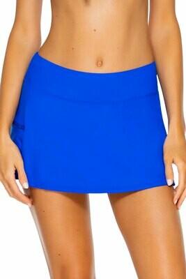 Sunsets Sporty Swim Skirt Imperial Blue