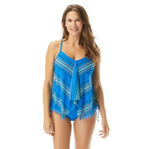 Beach House Kerry Mesh Layer Tankini