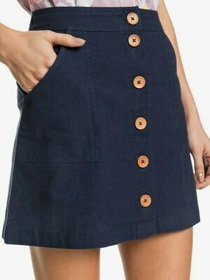 Roxy Oceanside Linen Skirt