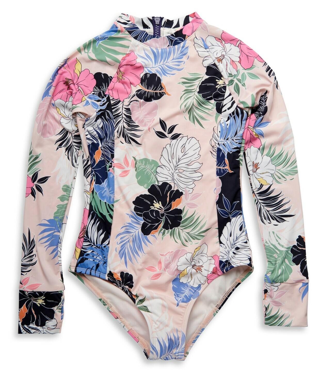 Hobie Hawaiian Bodysuit 1pc Girls 7-16