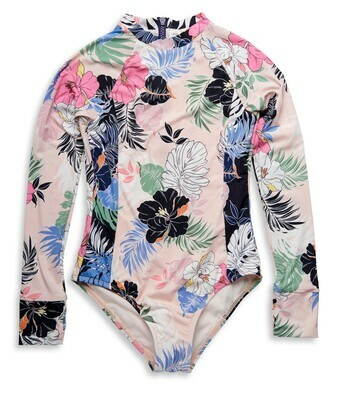 Hobie Hawaiian Bodysuit 1pc Girls 7-16
