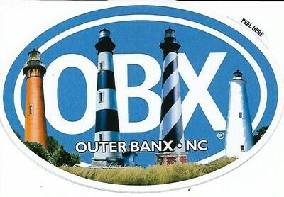 OBX Lighthouse Sticker