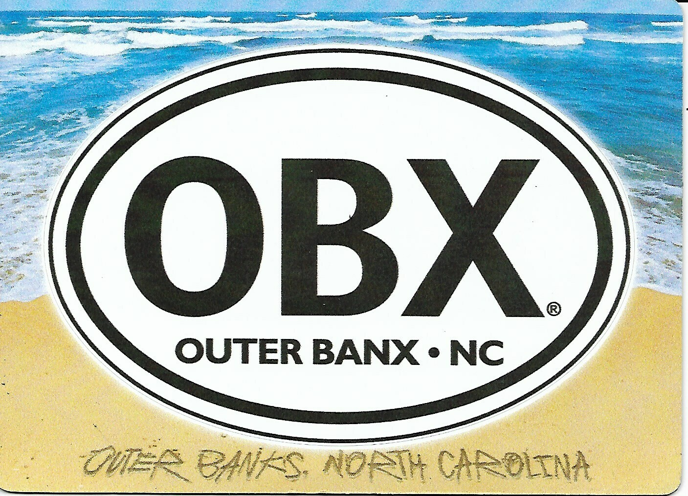 OBX Picture Magnet