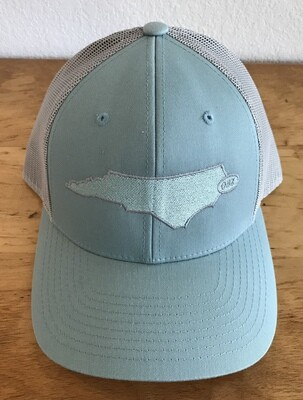 State Mesh Back Low Profile With State Patch Hat