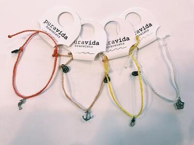 Pura Vida Mini Charm Bracelet