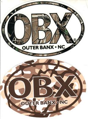 OBX Camo Sticker
