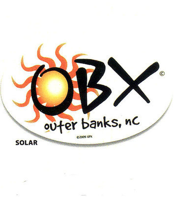 OBX Sun Sticker