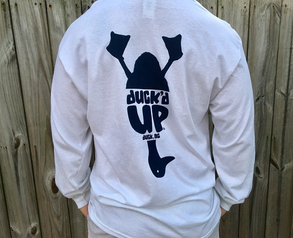 Duck'd Up Long Sleeve Tee