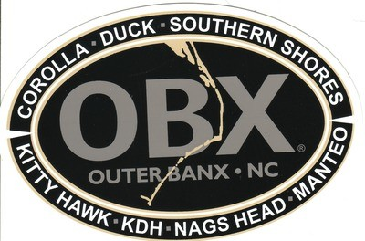 OBX Towns Sticker