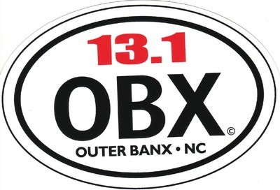 OBX Half-Marathon Sticker