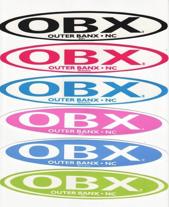 OBX Stretch Sticker