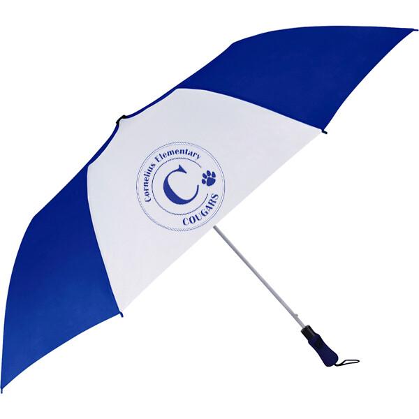 "CES Cougars 42"" Folding Umbrella"