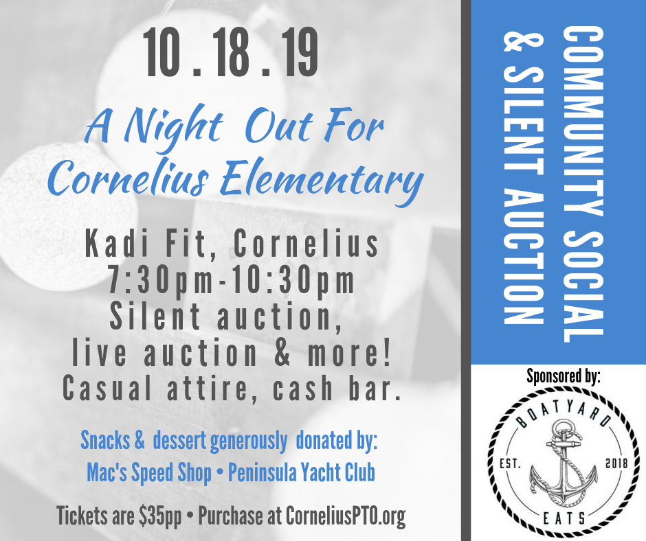 2019 Silent Auction Ticket