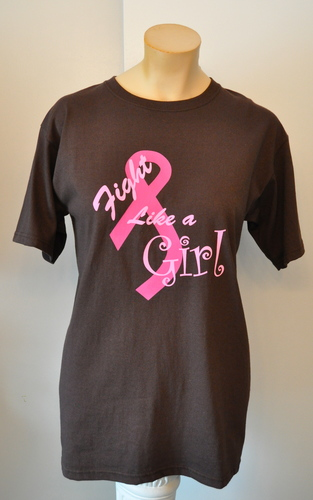 Brown fight like a girl breast cancer shirt pics 61