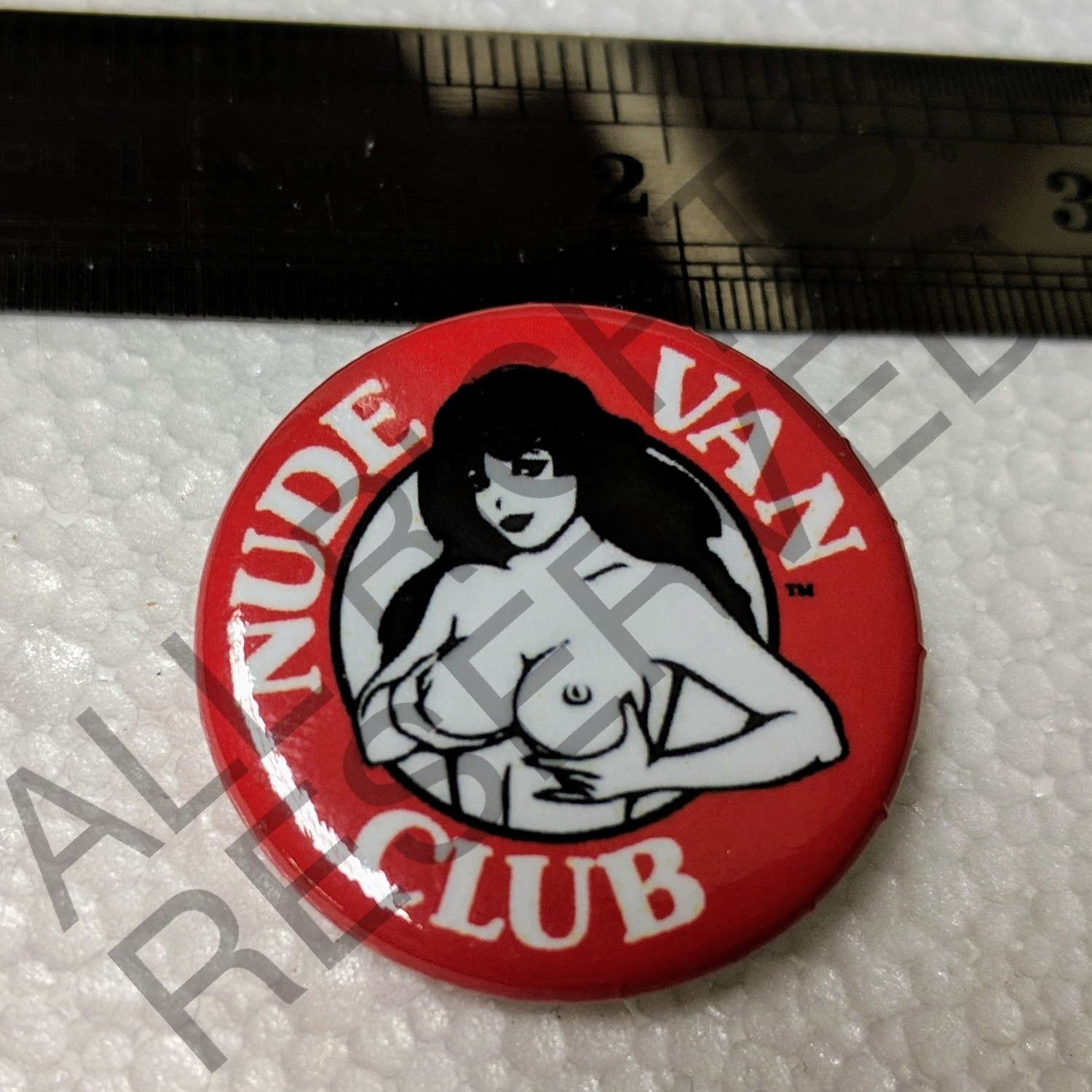 Nude Van Club Pin