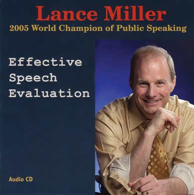 Effective Speech Evaluation 60014