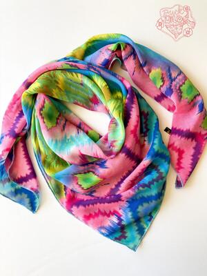 """Rainbow Bright Ladies Western Fashion Scarf 42"""""""