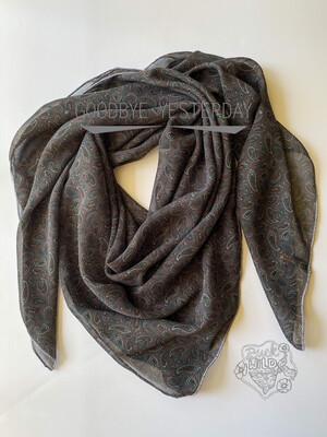 Greybull Silk Chiffon Scarf