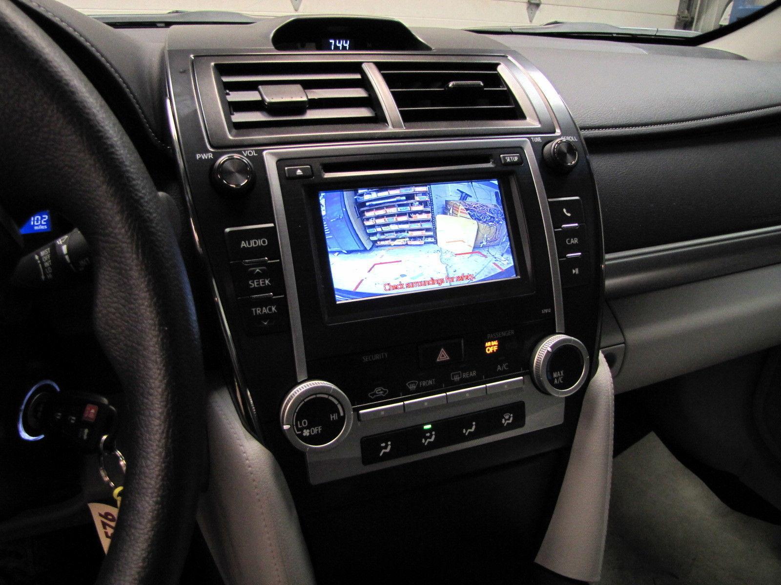 Пример установки на Toyota Camry