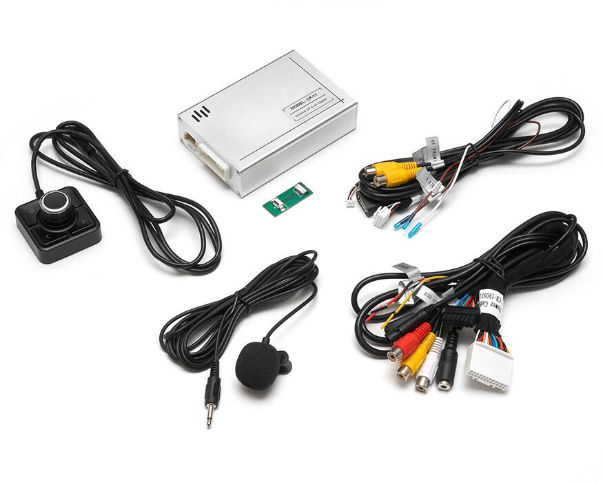 Универсальная приставка CarPlay и Android Auto с USB видео плеером