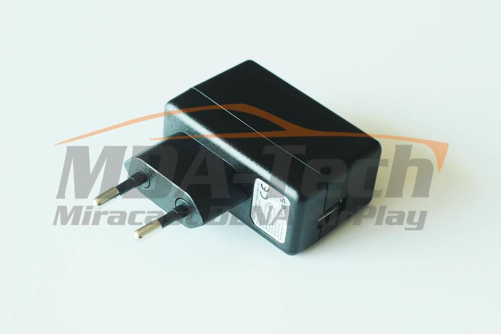 Адаптер питания 220 V -> 5 V USB