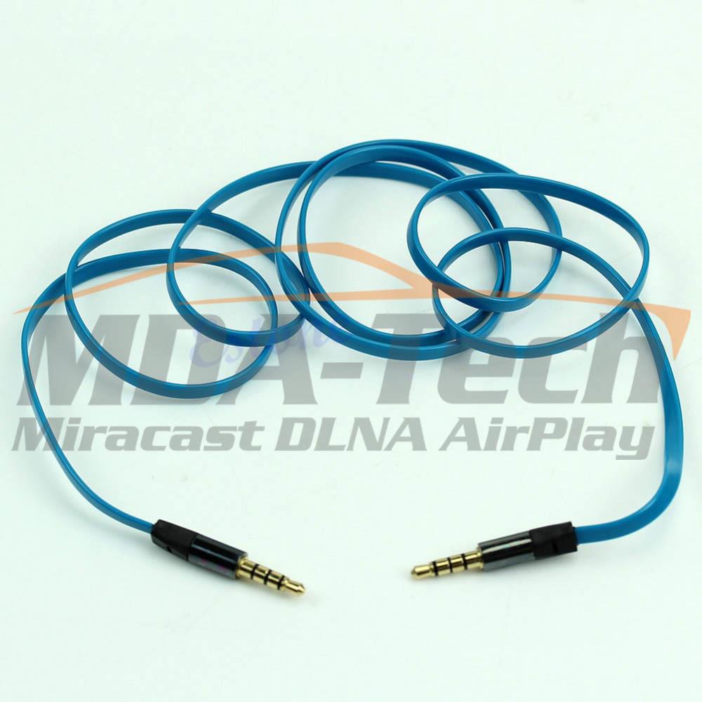 AUX кабель 3.5mm цветной
