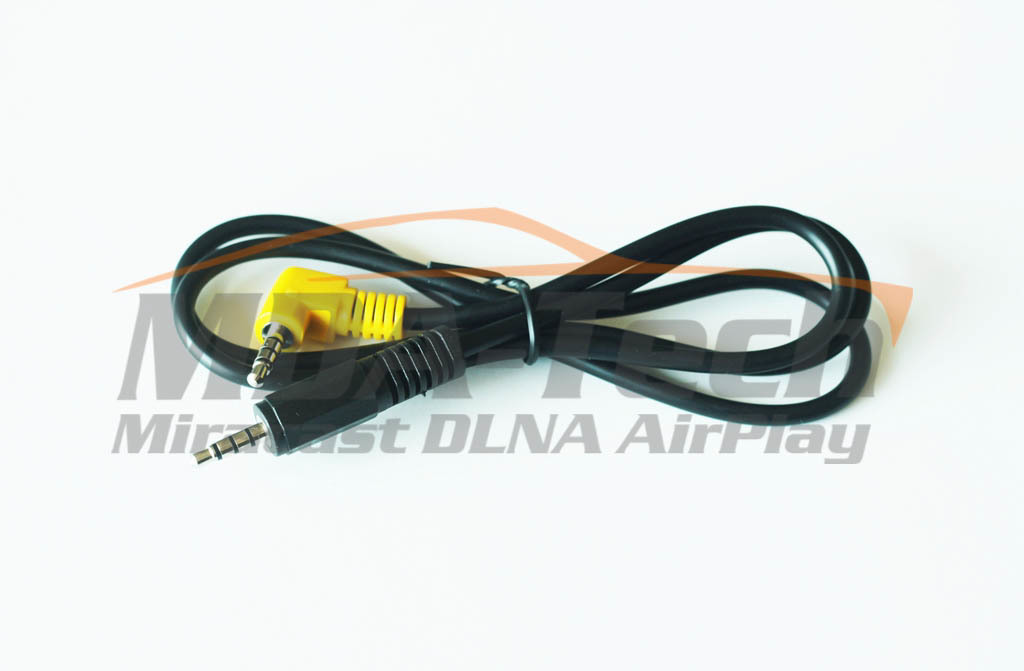 Аудио-видео кабель AUX - Jack 3,5 мм -> Jack 3,5 мм