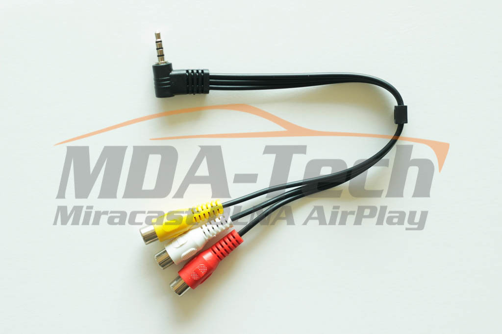 Аудио-видео кабель Jack 3,5 мм -> 3 RCA
