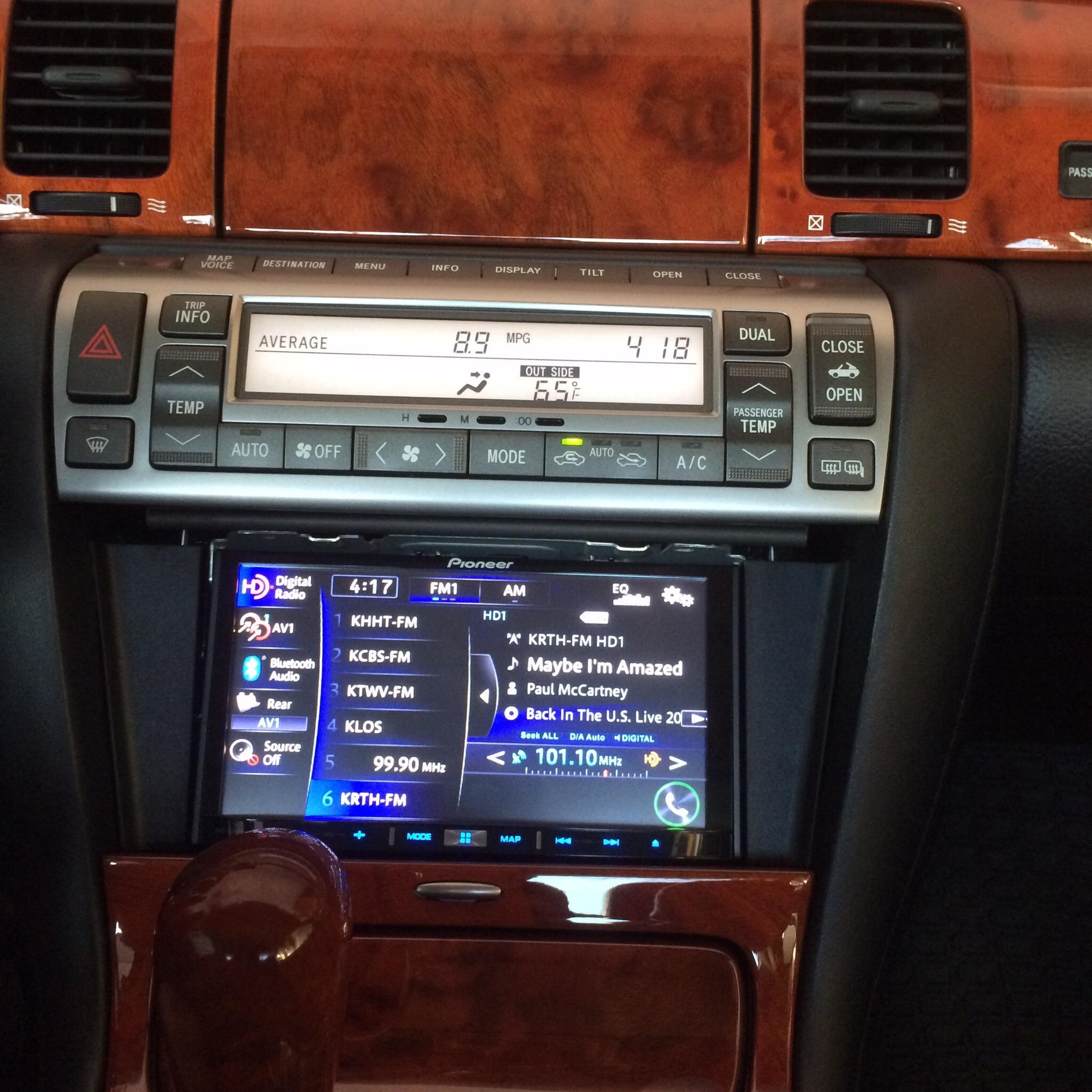 2DIN Lexus SC430 (2002-2010)