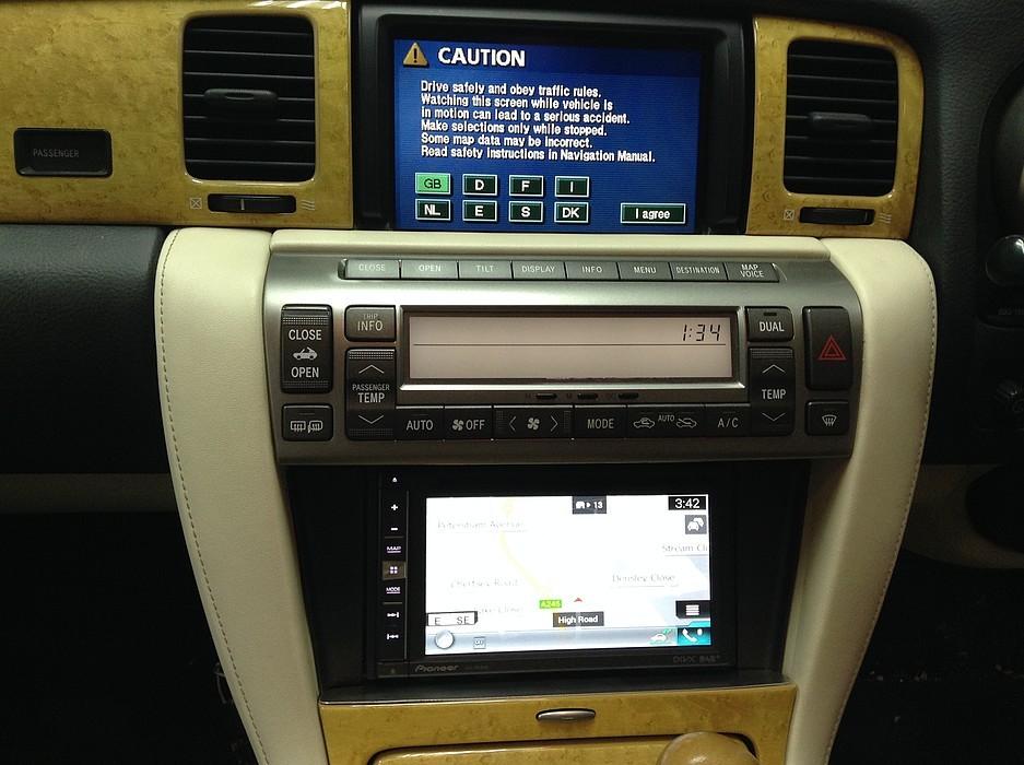 Адаптер + 2DIN Lexus SC430 (2002-2004)