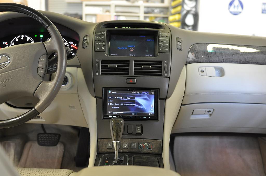Адаптер + 2DIN Lexus LS430 (2004-2006)