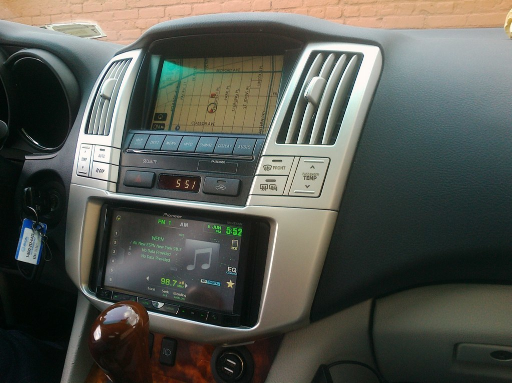 Адаптер + 2DIN Lexus RX330 & RX350 & RX400h (2004-2009)