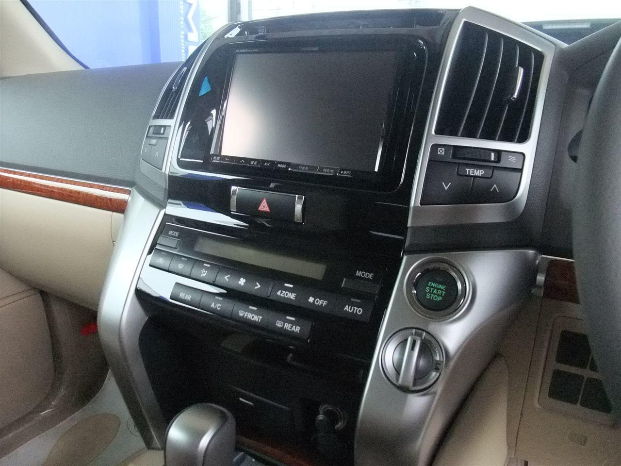 2DIN + Адаптер Toyota Landcruiser 200 (2007-2009)
