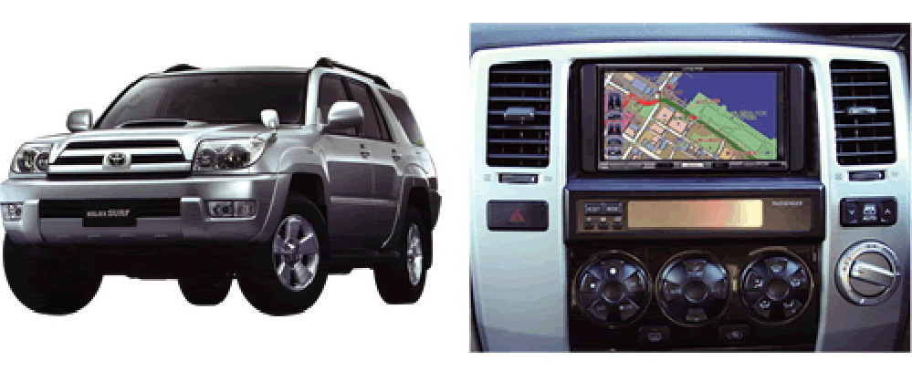 Адаптер 4Runner & Toyota Hilux Surf (2003-2009)