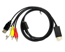 Кабель конвертер HDMI -> RCA MDA-VCIP5