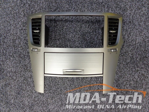 2DIN Panel + Climat Subaru Legacy & Outback