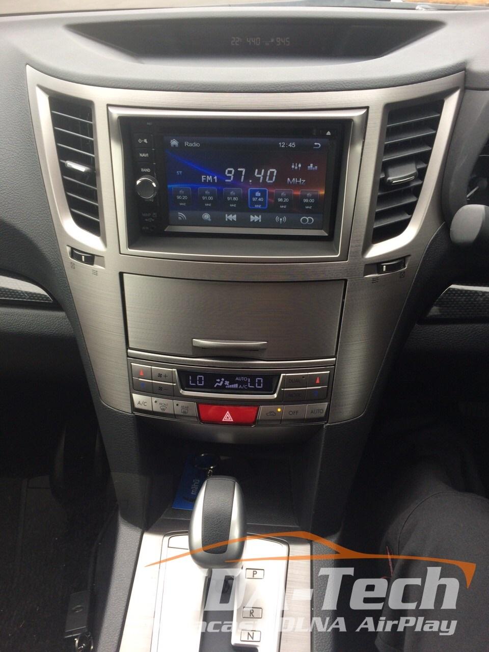 2DIN Panel + Climat Subaru Legacy & Outback