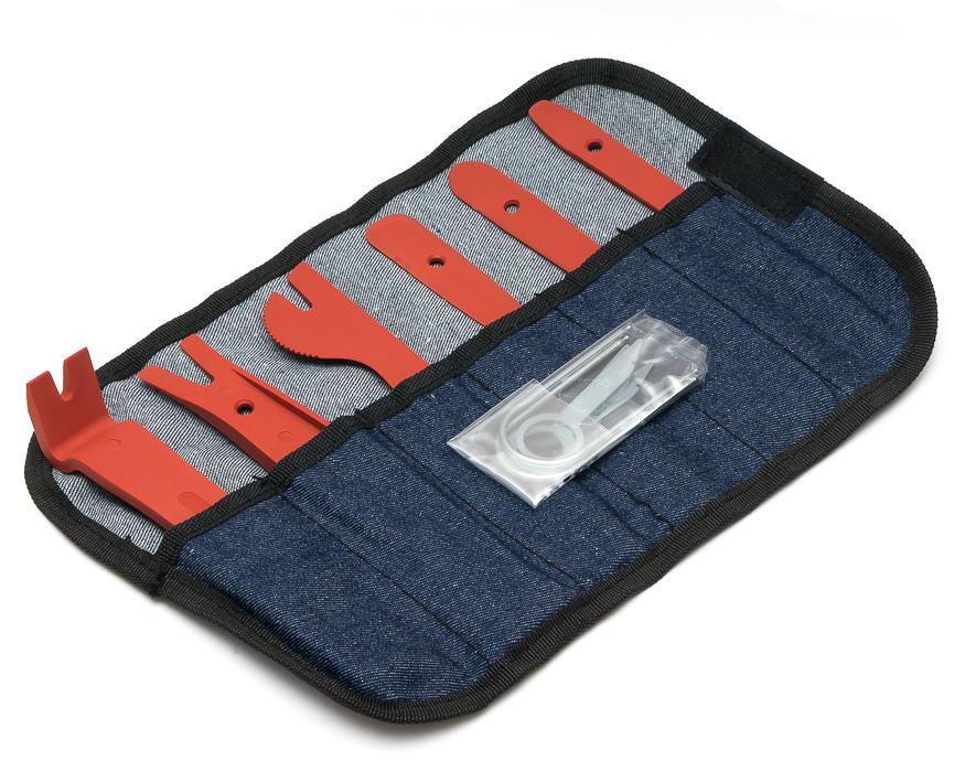 Набор инструментов для снятия обшивки (12 предметов) MDA-TOOL4