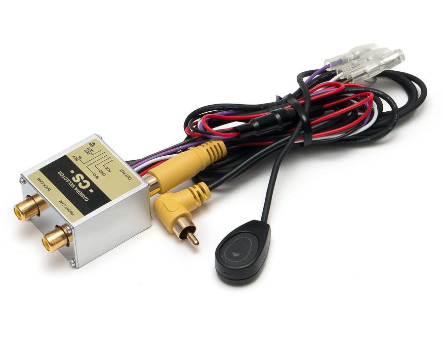 Универсальный видеоселектор MDA-CS3EP для камеры переднего и заднего вида CS3EP(CS1A)