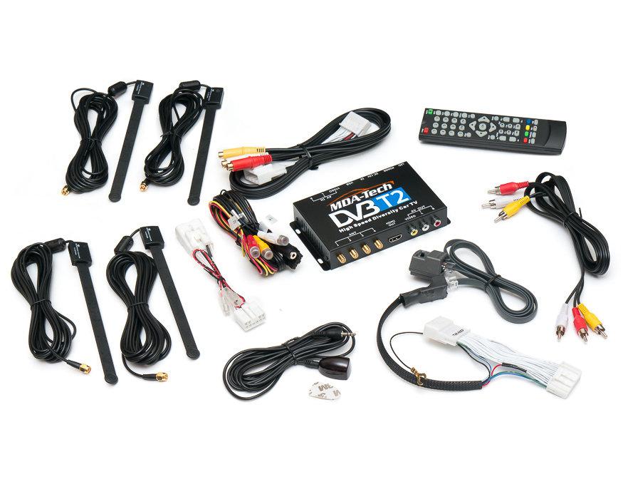Установочный комплект цифрового телевидения - Toyota 2012-2014 MDA-DVB-T4-Toyota-2012