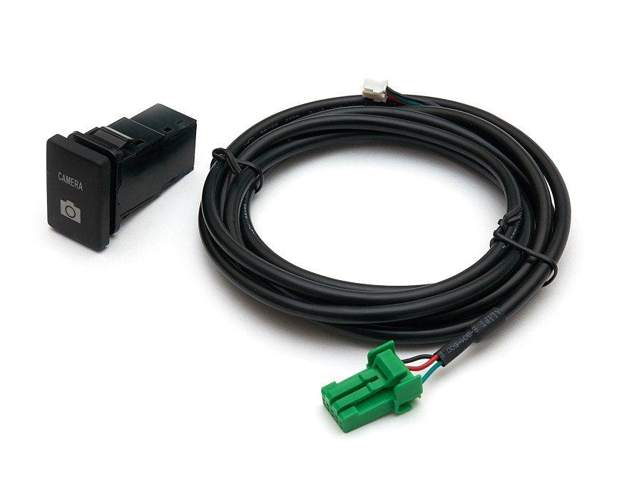 Кнопка Toyota и кабель для подключения к видеоселектору