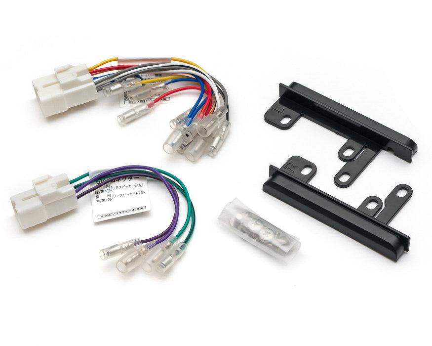Адаптер для подключения 2DIN на Toyota - 2 разъема + Панели MDA-BH1