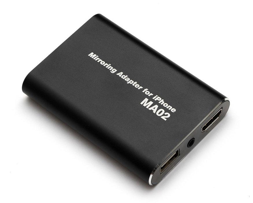 Адаптер для проводного подключения iPhone MDA-MA02 MDA-MA02