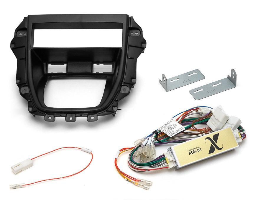1DIN Toyota Harrier & Lexus RX300 + Аудиоадаптер MDA-AOX-01