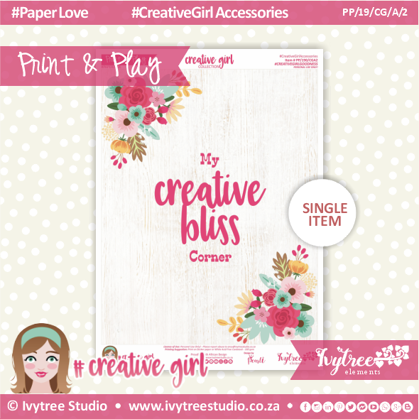 19/CG/A/2 - #Creativegirl ACCESORIES - Studio Poster - February 2019
