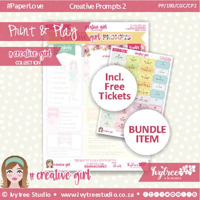 19/CG/P/2 - #Creativegirl PROMPTS & Bonus Prompt Labels - Prompt 2
