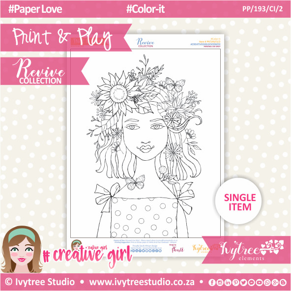 PP/193/CI/2 - Print&Play - Color-it - Revive Collection