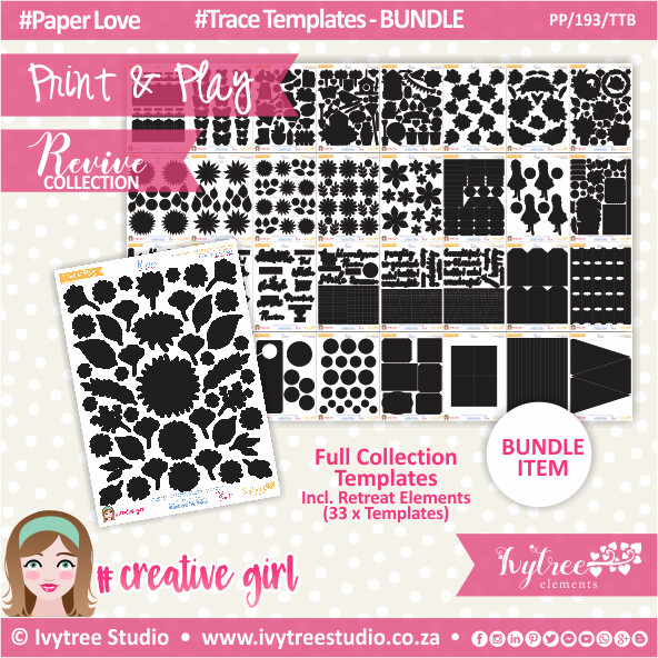 PP/193/TTB - Print&Play - Trace Templates Bundle - Revive Collection