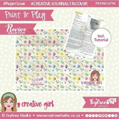 PP/193/CJ/TNC/6 - CREATIVE JOURNAL - Travel Notebook Cover (incl. Tutorial)