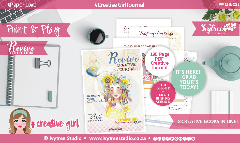 PP/193/CGJ - Revive Collection - CREATIVE GIRL JOURNAL